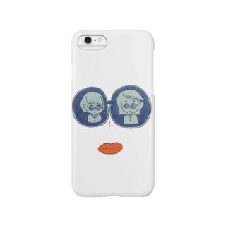 まるめがね Smartphone cases