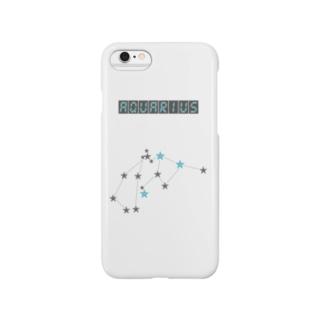 スタースタッズ星座 水瓶座 Smartphone cases