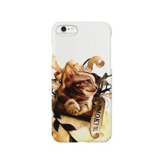 SMOKY CAT Smartphone cases