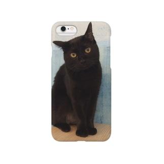 黒猫くぅちゃん Smartphone cases