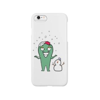 グリーミン  スノーver.. Smartphone cases