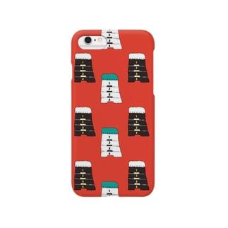 パターン3 Smartphone cases