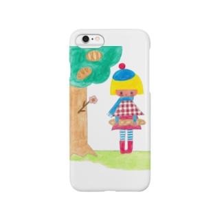 パンのなる木からおっこちたバケット Smartphone cases