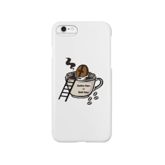 Coffee time = Bath time Smartphone cases
