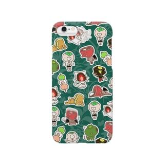 和菓子妖怪 大集合 Smartphone cases