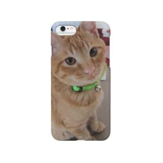 ちゅ~るが欲しい はく Smartphone cases