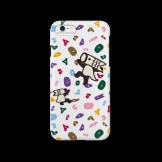 こいのぼりマン@加須市のこいのぼりマン_ボルダリング柄 Smartphone cases