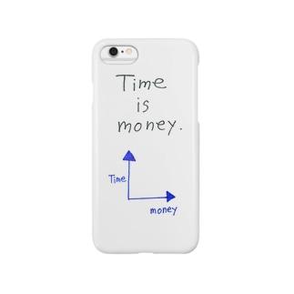 時は金なり。 Smartphone cases