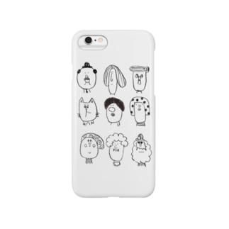 ピーポー Smartphone cases