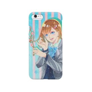 梅と女子 Smartphone cases