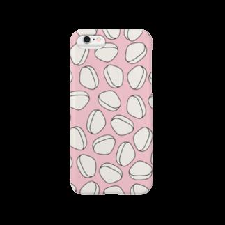 あまだいのおでん・はんぺん(ピンク) Smartphone cases