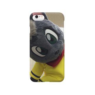 黒猫ポピー Smartphone cases