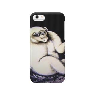 日本の国宝の猿 Smartphone cases