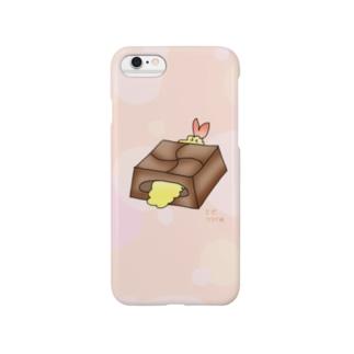 えびふらい味のチロルチョコ Smartphone cases
