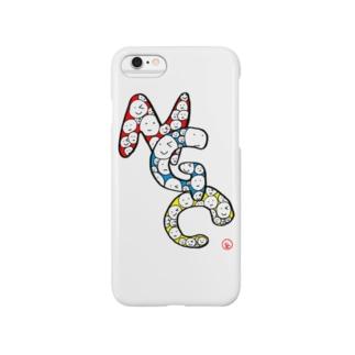 山本彩乃 作『NGC』 Smartphone cases