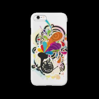 AURA_HYSTERICAのHorn_Music Smartphone cases