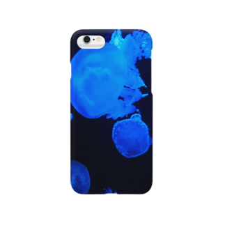 Daily×Fantasyのあおいくらげ。 Smartphone cases