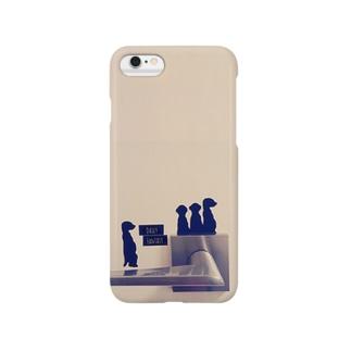 ドアノブとどうぶつ。 Smartphone cases