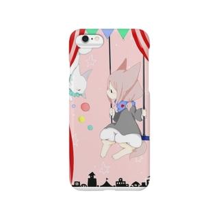 人外幼女と小さなキツネ Smartphone cases