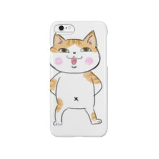 ドヤ顔ねこ Smartphone cases