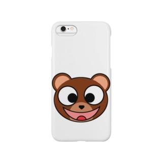 スマイリーベアー Smartphone cases