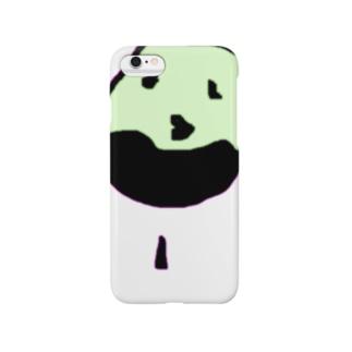 summer(さまー)のsummer(さまー)in白黒太陽 Smartphone cases
