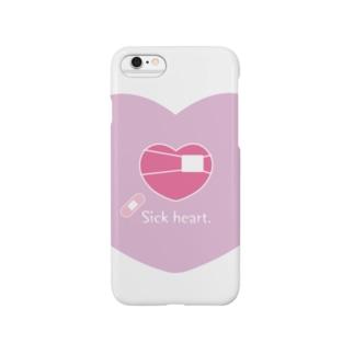 Sick heart. Smartphone cases
