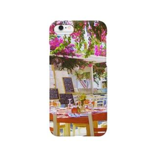 ミコノス島の昼下がり Smartphone cases