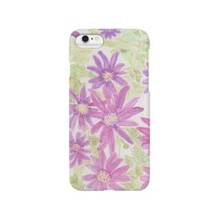 紫花火 Smartphone cases