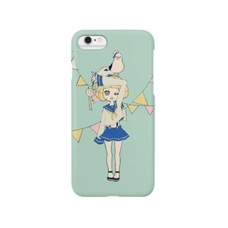 マリンガール Smartphone cases