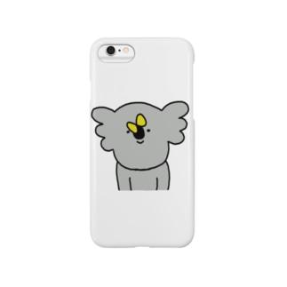 のんびりちょうちょ Smartphone cases