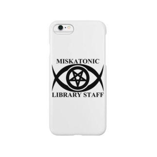 MISKATONIC LIBRARY STAFF Smartphone cases