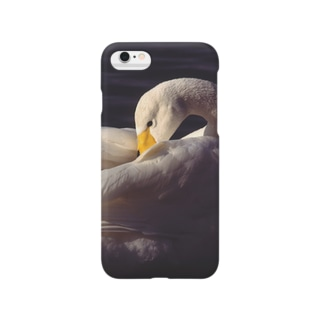iphone ケース 白鳥 2 Smartphone cases
