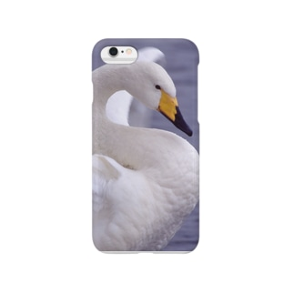 iphone ケース 白鳥 1 Smartphone cases