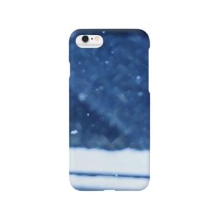 引き摺った跡 Smartphone cases