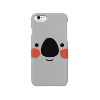 見ていますよ(コアラ) Smartphone cases
