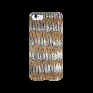 うづきりんのアジ Smartphone cases