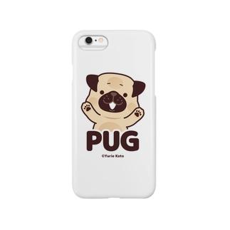 PUG(color) スマートフォンケース