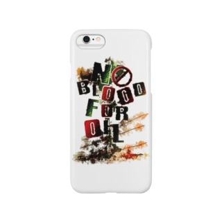 NO BLOOD FOR OIL Smartphone cases