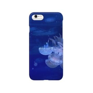クラゲの団塊 Smartphone cases