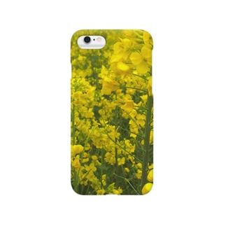 菜の花いっぱい Smartphone cases