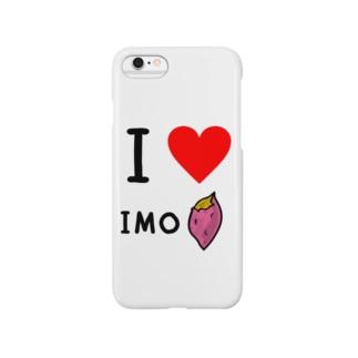 I LOVE IMOスマホケース Smartphone cases