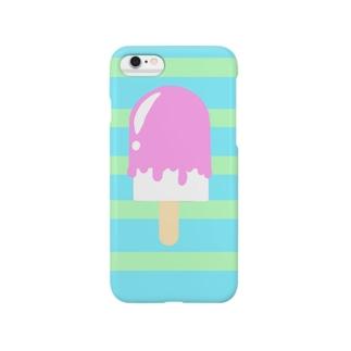 ペロペロアイス Smartphone cases