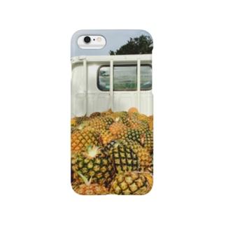 パインアップル収穫フィー。 Smartphone cases