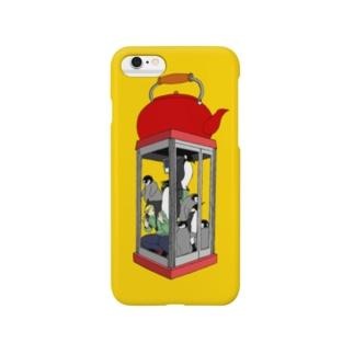 南極ストウブ① Smartphone cases