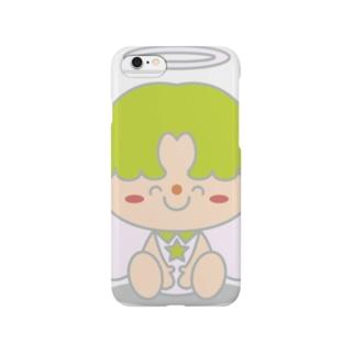 大天使ラファエルちゃん Smartphone cases