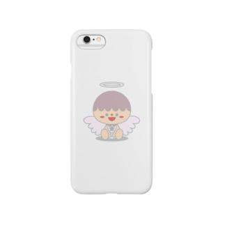 大天使ザドキエルちゃん Smartphone cases