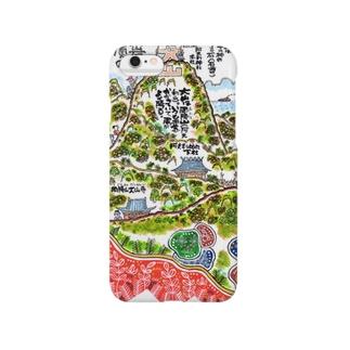 山岳伝承漫画「神奈川県・丹沢大山は雨降り山」 Smartphone cases
