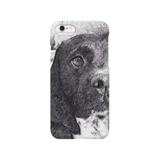 Sleepy dog Smartphone cases