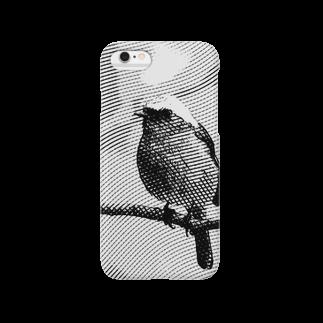Natural silhouetteのジョウビタキ2 Smartphone cases